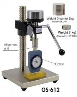 Chân đế đồng hồ đo độ cứng cao su GS-612 Teclock