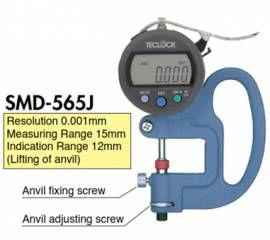 Đồng hồ đo độ dày hiển thị số Teclock Việt Nam