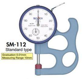 Đồng hồ đo độ dày vật liệu SM-112 Teclock Vietnam