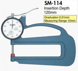 Đồng hồ đo độ dày vật liệu SM-114 Teclock