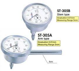 Đồng hồ so chân sau 0.01mm ST-305A / ST-305B Teclock