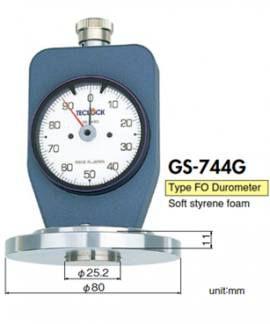GS-744G Đồng hồ đo độ cứng xốp, mút mềm Teclock Vietnam