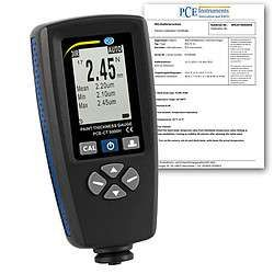 PCE-CT 5000H-ICA incl.  Thickness Gauge  ISO Calibration Certificate