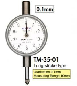 Đồng hồ so dải đo nhỏ TM-35 / TM-34 / TM-36 / TM-37 Teclock