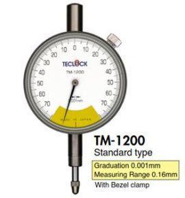 Đồng hồ so dải đo thấp TM-1200/TM-1211/TM-5210 Teclock