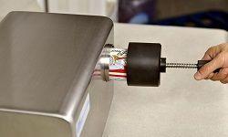 Thiết bị cắt mí lon để kiểm tra kết nối ANSS
