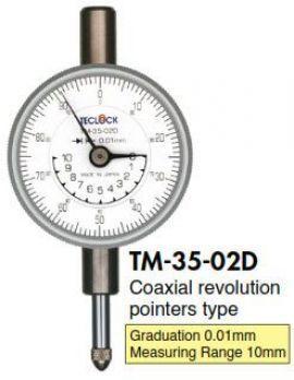 TM-35-02D Đồng hồ so Teclock Vietnam